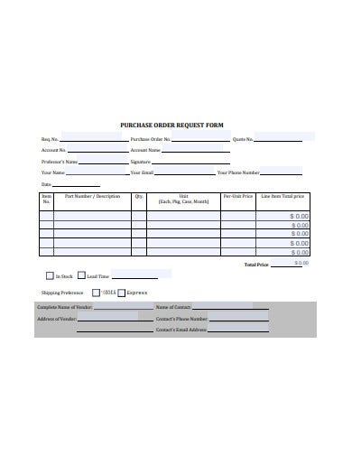 purchase-order-request-form-template