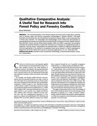 qualitative comparative analysis in pdf