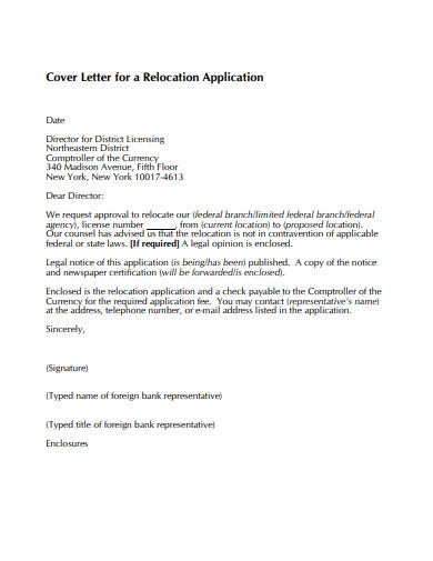 Relocating Cover Letter Samples from images.template.net