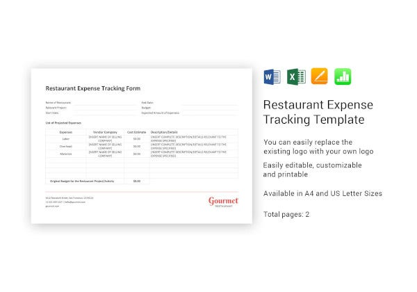 restaurant-expense-tracking-template