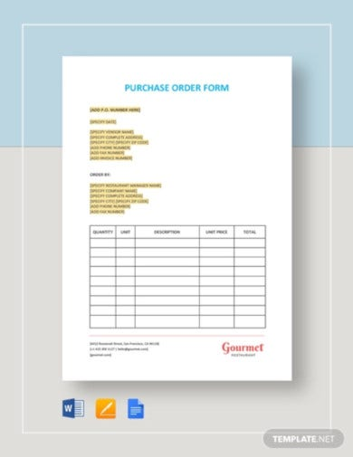 restaurant-purchase-order-form-template