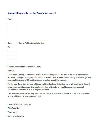 5  Increment Letter Templates