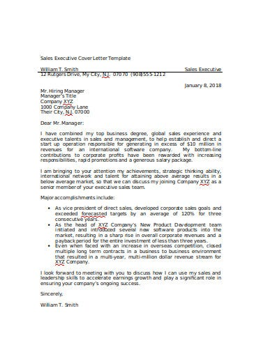 sales executive cover letter template1