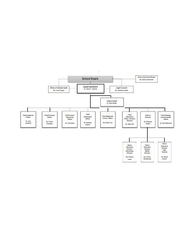 school division organizational chart