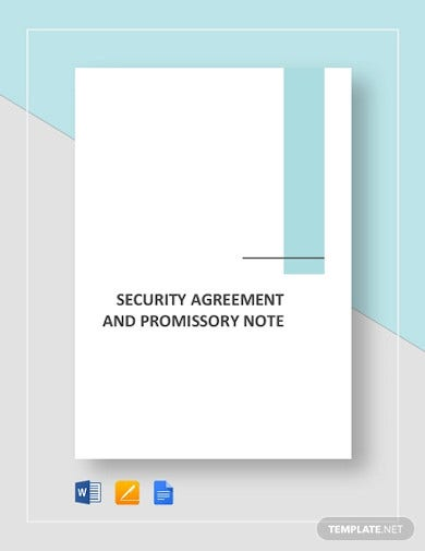 security agreement and promissory note template2