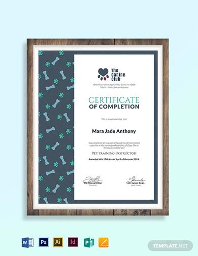 service-training-certificate-template