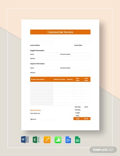simple-commercial-invoice-template