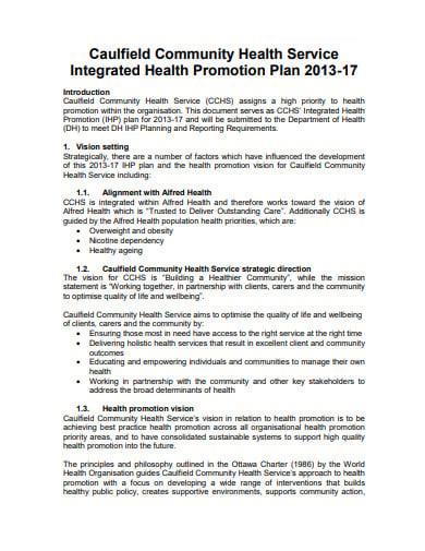 10+ Promotion Plan Templates in PDF | Free & Premium Templates