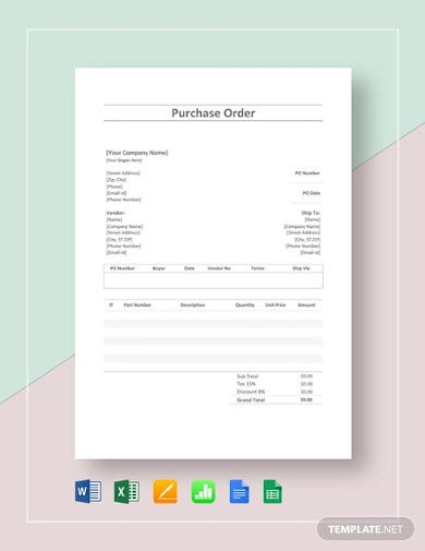 simple-purchase-order-template