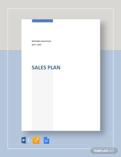 simple sales plan template1