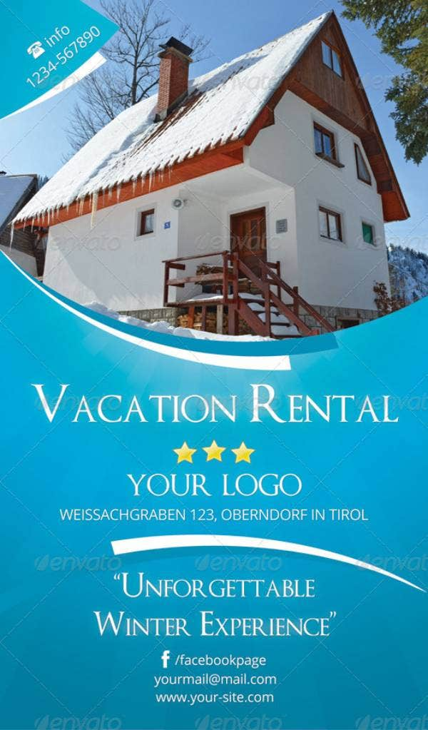 simple-vacation-rental-flyer