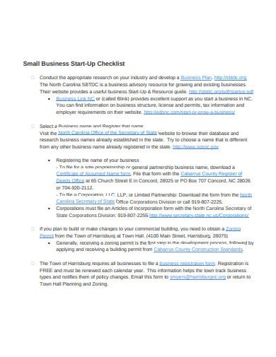 10  small business checklist templates