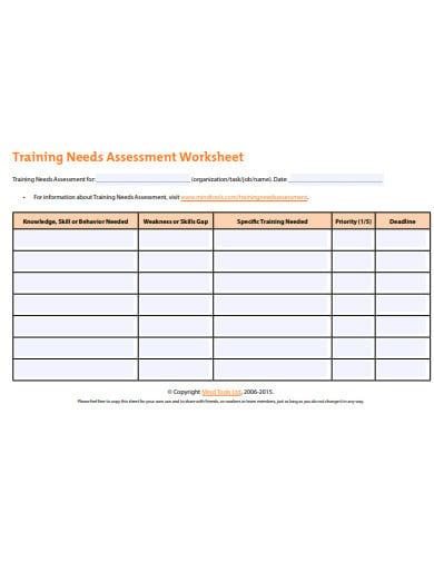 training-needs-assessment-worksheet