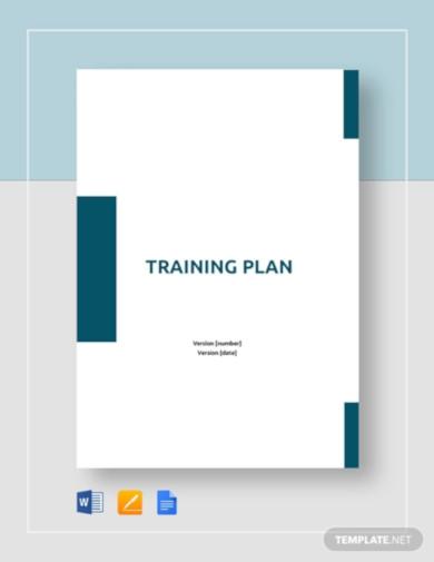 training plan template1