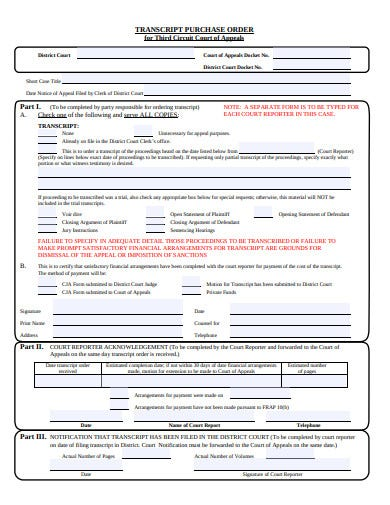 transcript-purchase-order-template