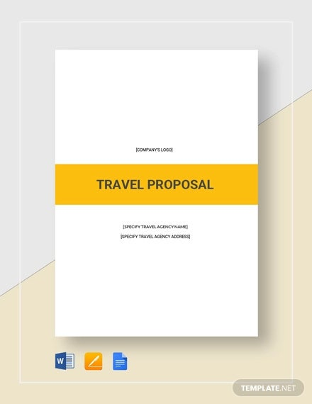 travel proposal template