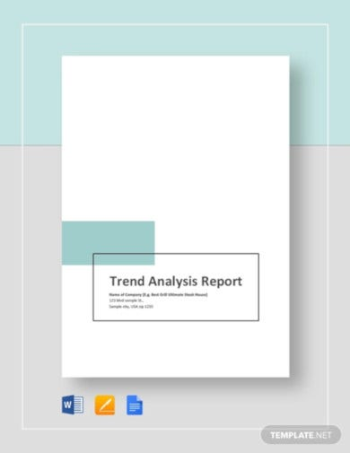 trend-analysis-report-template