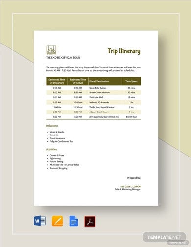 trip-itinerary-template