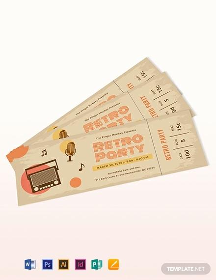vintage ticket template 440x570 1