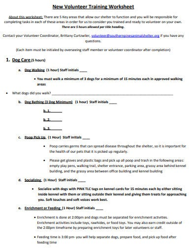 volunteer-training-worksheet
