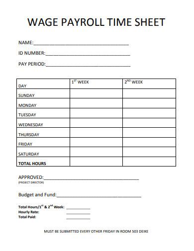 wage-payroll-timesheet-template