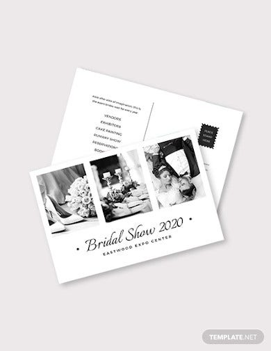 wedding-planner-postcard-template