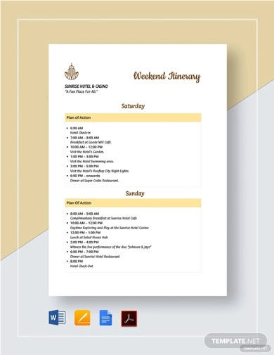 weekend-itinerary-template