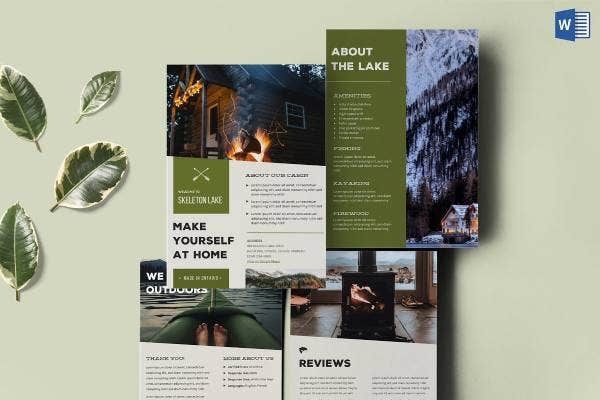 14 Rental Brochure Templates Sample Example Format