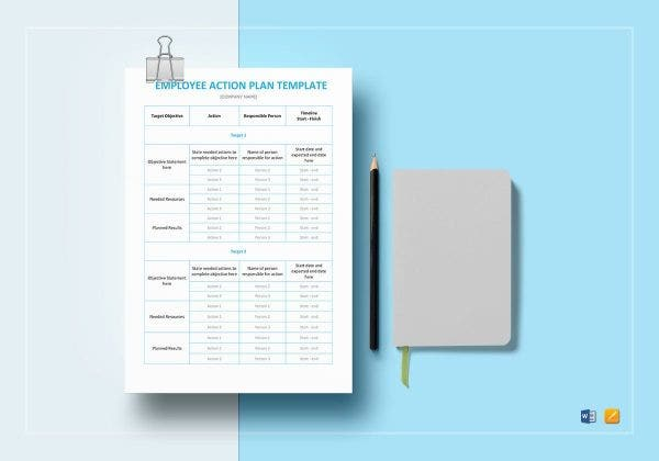 employee action plan template mockup1 e1564414266466