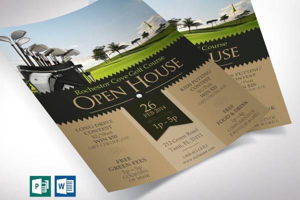 golf course openhouse template