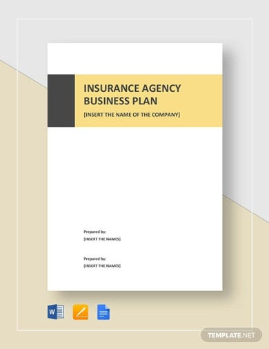 nsurance agency business plan template 1