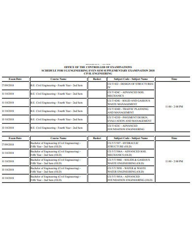office control examination schedule1
