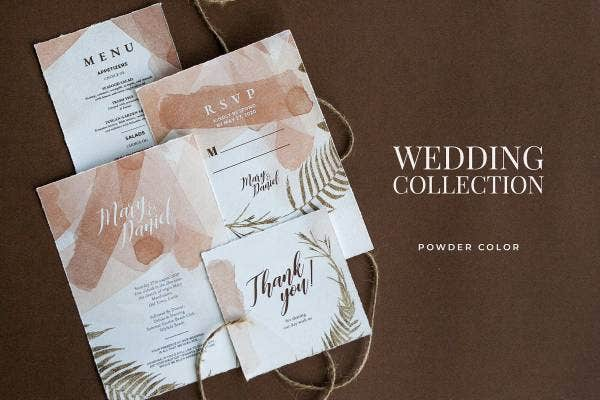 rustic invitation se