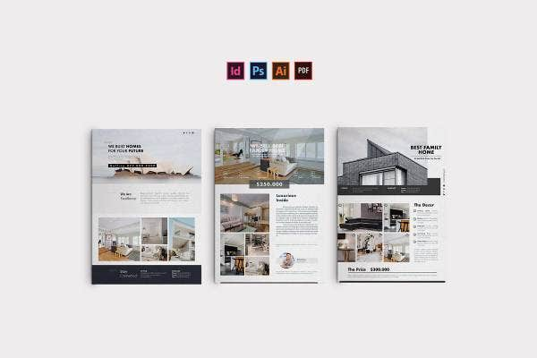 sample small real estate business flyer1