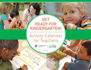 activity of calendar kindergarten