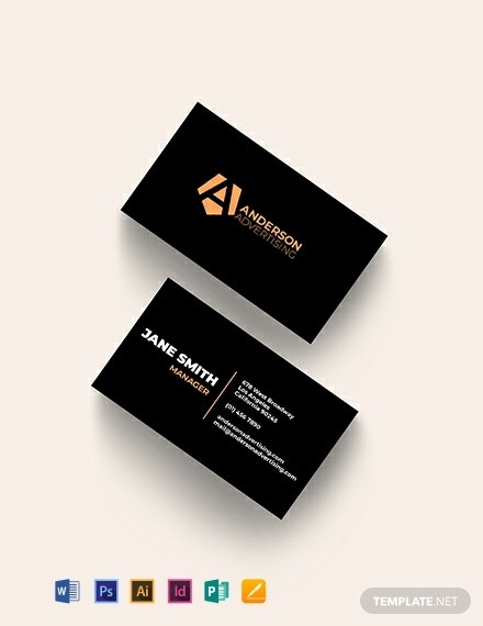advertising agency business card template 440x570 1