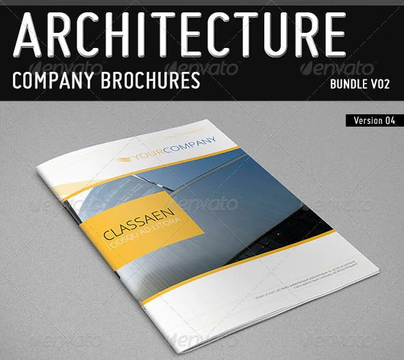 architecture company brochure example