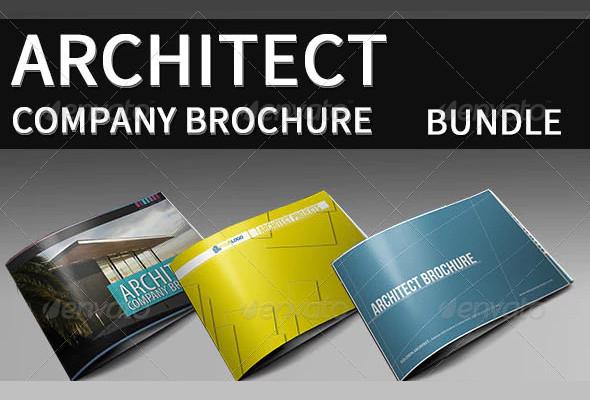 architecture company brochure template