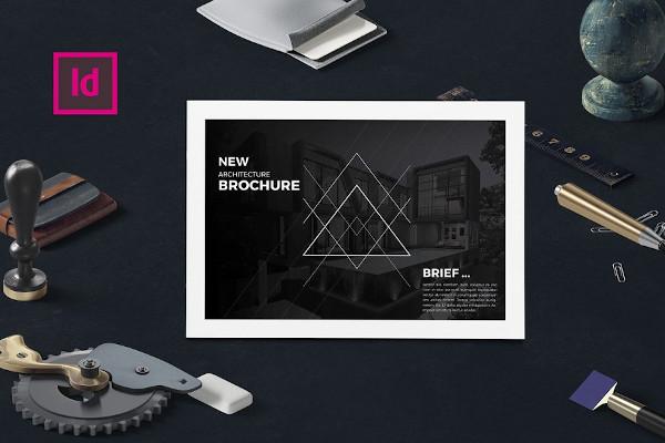 architecture company brochure
