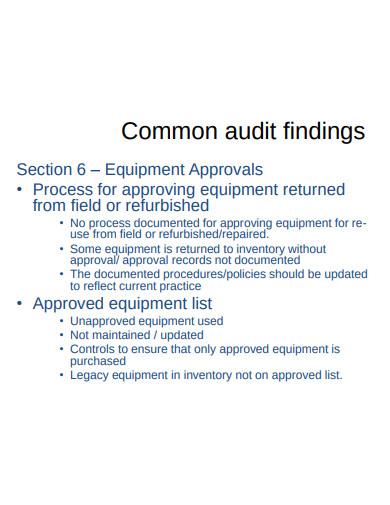 audit debrief template