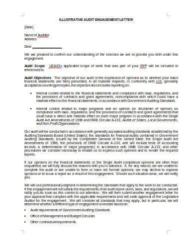 audit letter in doc