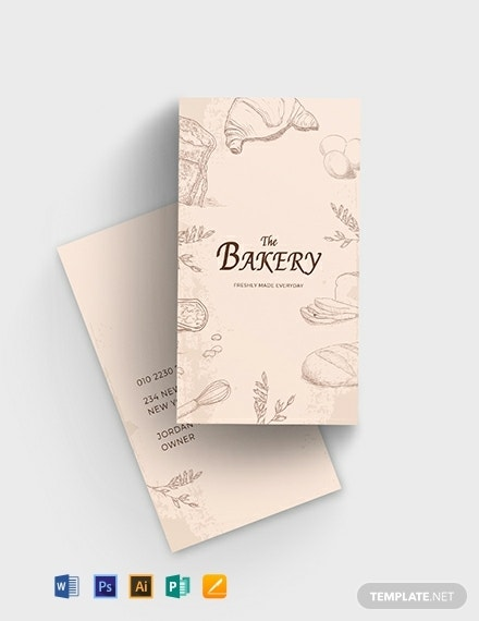 bakery shop business card template 440x570 1