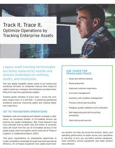 basic asset tracking example