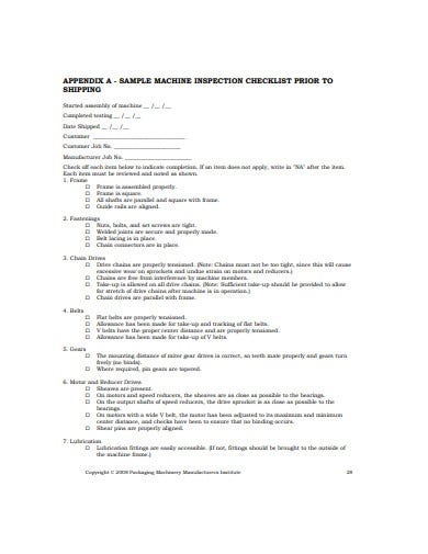 basic product liability checklist template