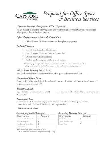 capstone sample proposal sheet 1 1