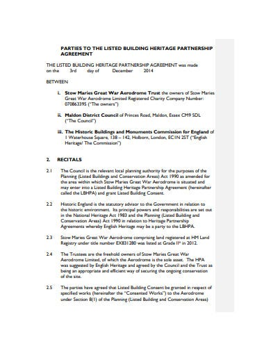 Non Profit Partnership Agreement Template from images.template.net