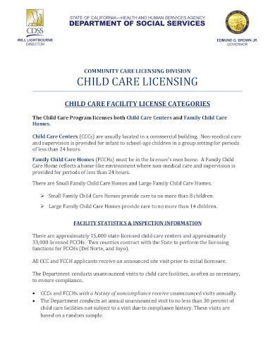 child care letterhead in pdf