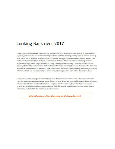 church five year growth plan