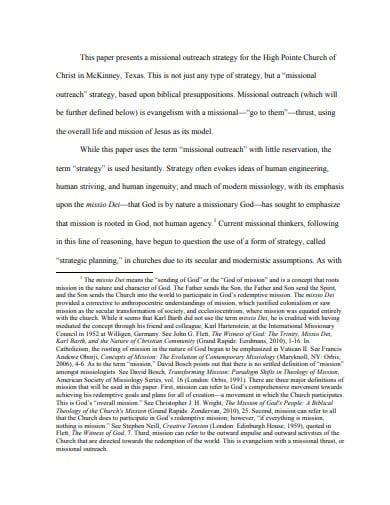 church outreach plan template in pdf
