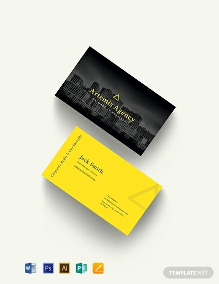 commercial property management business card template 440x570 1